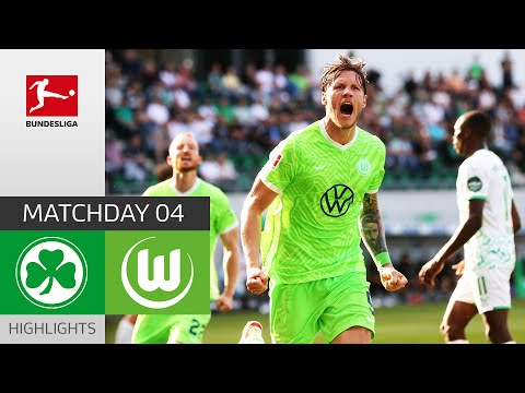 Greuther Furth Wolfsburg Goals And Highlights