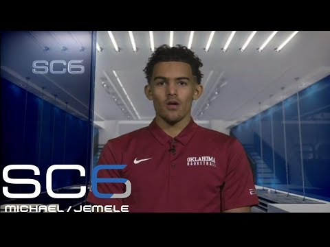 Oklahoma star Trae Young responds to Stephen Curry's comments   SC6   ESPN