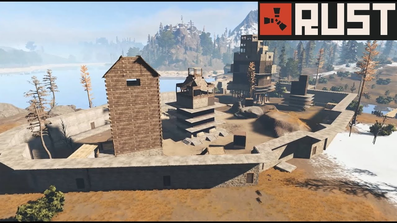 Rust Cribs Base Designs Ep YouTube - Rustopia map us