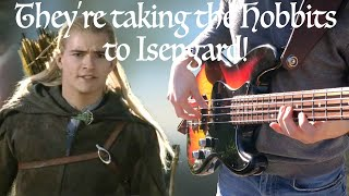 Gambar cover They're taking the Hobbits to Isengard (Bass Cover)