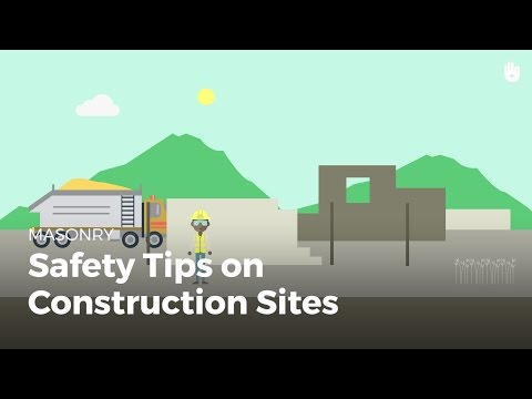 Safety on  a Construction Sites | Masonry