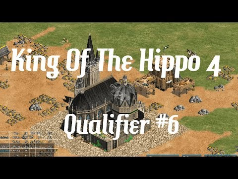 AoE2 - King Of The Hippo 4 - Qualifier #6