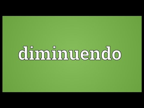 Diminuendo Meaning