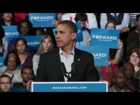 President Obama and Jay-Z in Columbus, Ohio