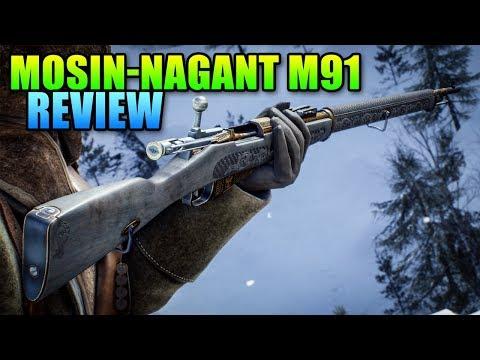 Mosin-Nagant M91 Unlock & Review   Battlefield 1