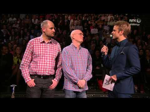 David and Robin interviewed at Norway's Melodi Grand Prix 2014