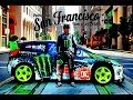Ken Block San Francisco Drift - dubstep  (2013 1080p HD)