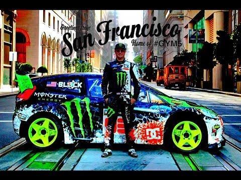 Monster Rally Car Wallpaper Ken Block San Francisco Drift Dubstep 2013 1080p Hd