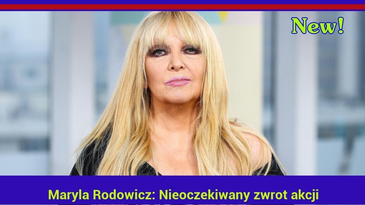 Maryla Rodowicz: Nieoczekiwany zwrot akcji