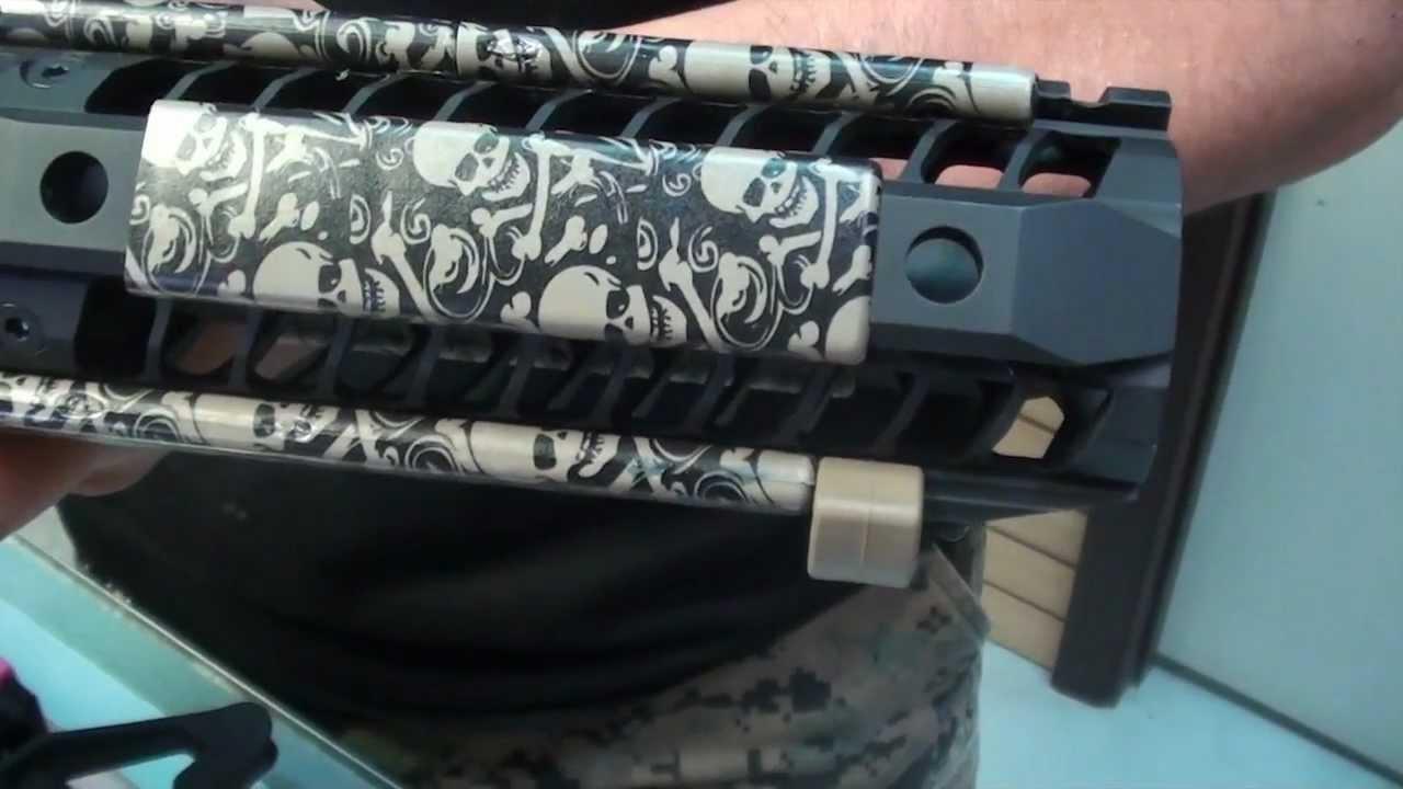 Ergo Grip Picatinny Rail Covers - YouTube