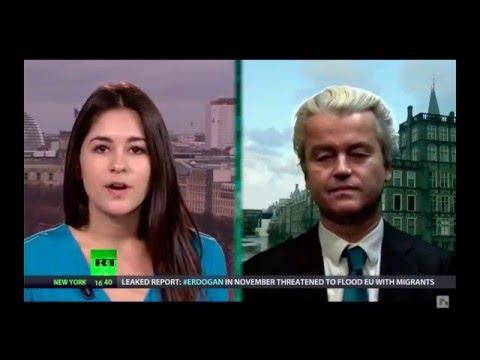Interview Geert Wilders met RT America
