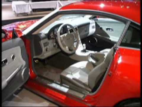 Chrysler Crossfire Coupe Interior