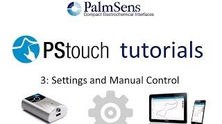 PStouch Урок 3: Настройка і ручне управління