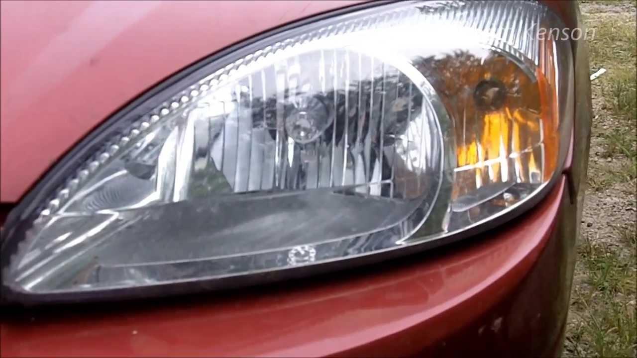 Ford Taurus: Headlight Lens Restore - YouTube