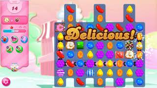 How to complete candy crush saga hard level #1827 without booster