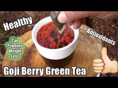 Homemade Goji Berry Green Tea Great Morning Coffee Alternative