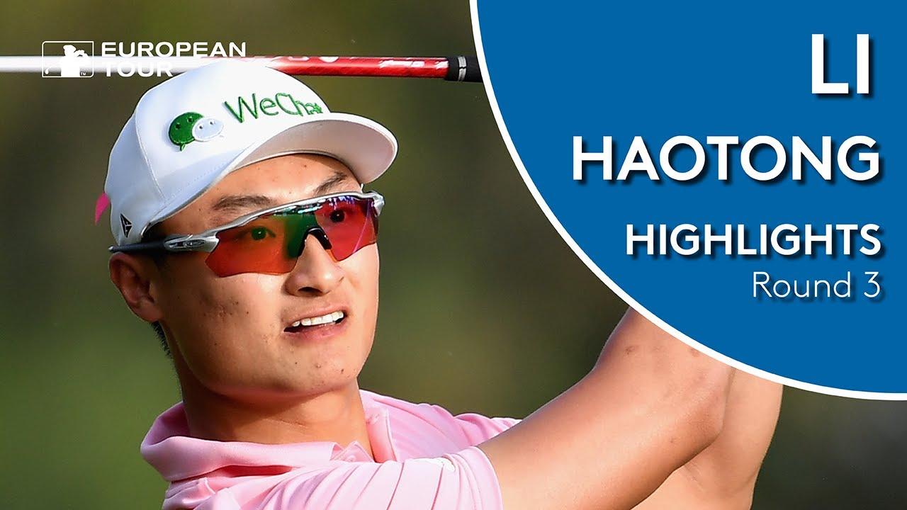 Li Haotong leads halfway through PGA Championship