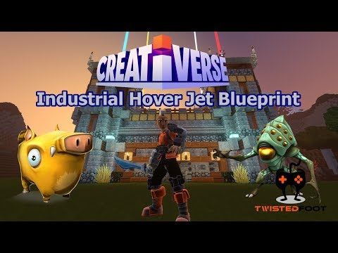 Creativerse | Industrial Hover Jet Blueprint