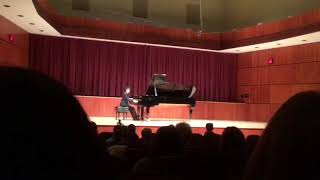 Brandon Luo (12 yrs) MTNA winners recital