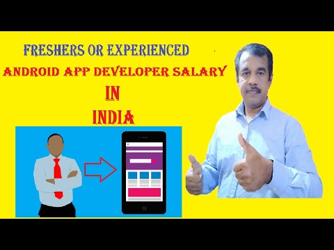 Android APP Developer  Salary In India (2020 ) | Software Engineer | Freshers And Experienced