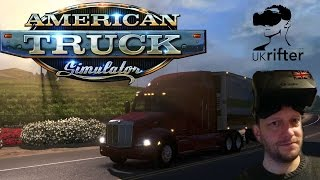 American Truck Simulator VR LIVE - Part 1 Discovering Arizona with UKRifter in Oculus Rift CV1 (ATS)