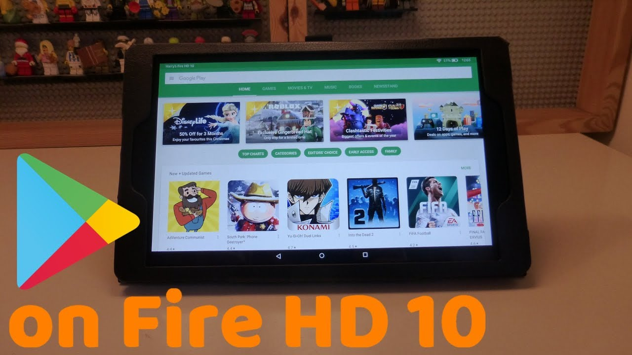 Google Play Store Auf Fire Hd 10