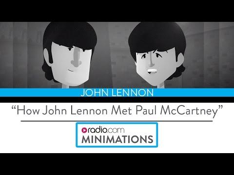 "John Lennon: ""The Day I Met Paul""  (Radio.com Minimation)"