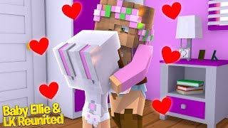LITTLE KELLY IS REUNITED WITH HER BABY!   Minecraft Little Kelly   Baby Ellie