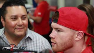 Canelo Alvarez disappointed in Mexico's president meeting w/Trump