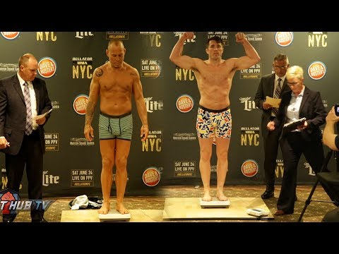 WE HAVE A FIGHT! Chael Sonnen vs. Wanderlei Silva Full Weigh in Video