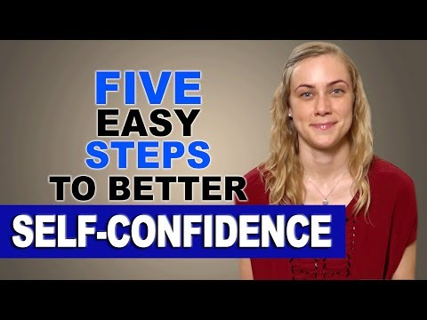 5 easy steps to build your Self-Confidence - Mental Health Help with Kati Morton