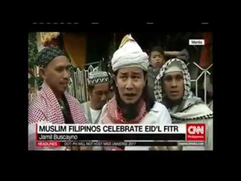 Muslim Filipinos celebrate Eid'l Fitr