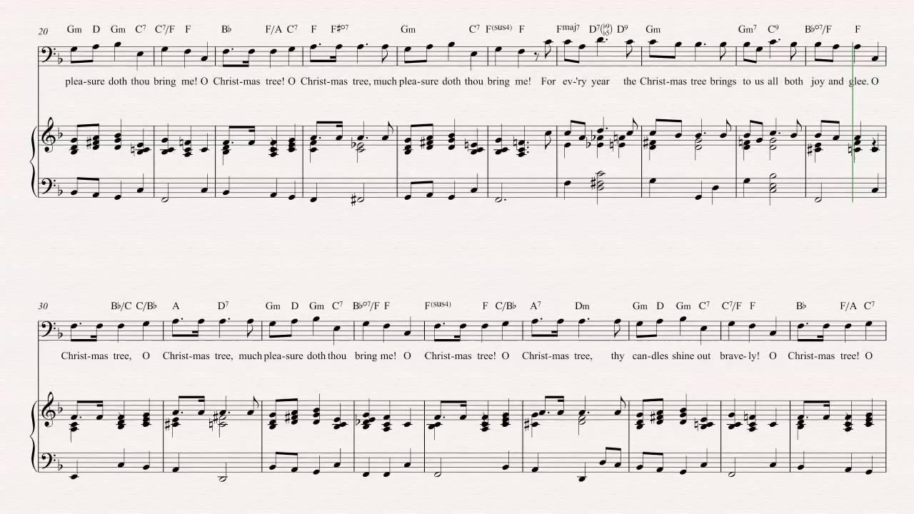 Tuba - O Christmas Tree - Christmas Carol - Sheet Music, Chords ...
