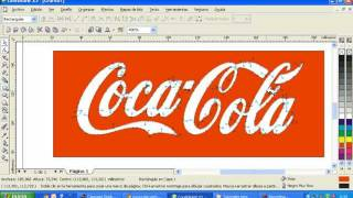 Vectorizar logo de coca cola en corel draw x3.avi