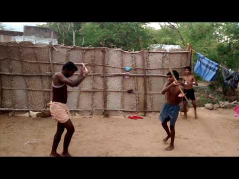 Madurai(kallupatti) silambam style