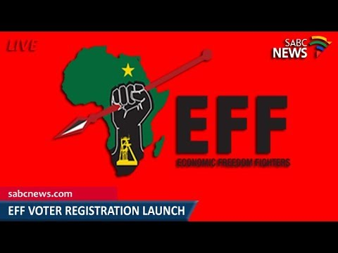EFF voter registration campaign launch, 04 March 2018