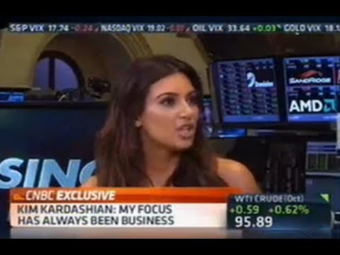 CNBC Asks Kim Kardashian About The Economy