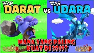 WAR DARAT vs UDARA Di 2019!! Siapa Yang GAMPANG 3 BINTANG?