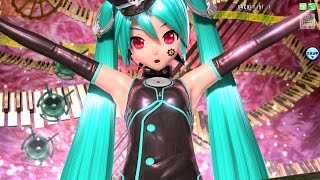 pda ft sadistic music factory pv 初音ミク わがまま工場長 selfish factory manager module project diva arcade