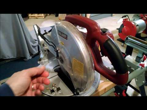 Tool Shop 10-inch Miter Saw Review