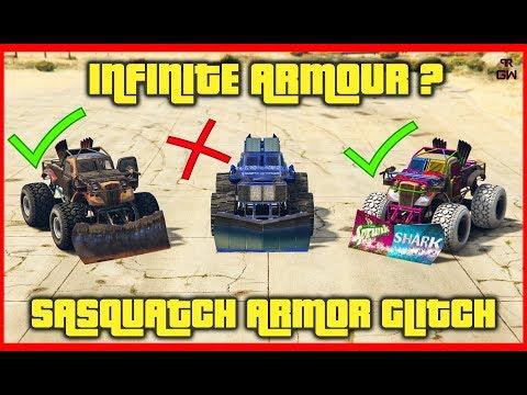INFINITE Protection From Bullets (better Than KURUMA) Sasquatch Glitch/Bug - GTA 5 Online Arena Wars