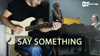 A Great Big World ft. Christina Aguilera - Say Something - Electric Guitar Cover by Kfir Ochaion