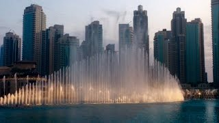 Dubai Dancing Fountain, Last Evening in Dubai - Dubai vlogs