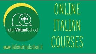 Online Italian Courses at Italian Virtual School