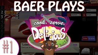 Let's Play Cook, Serve, Delicious! (Pt. 1) - Baer's Beers