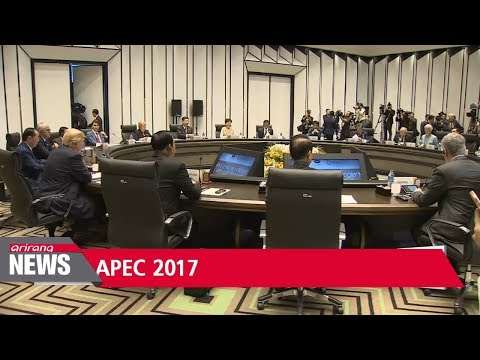 President Moon promotes free trade, 'inclusive growth' at APEC summit