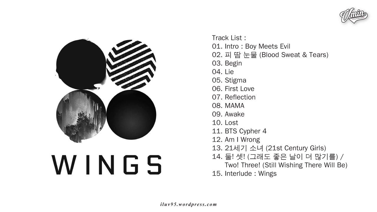 [FULL ALBUM] BTS - WINGS [VOL. 2]
