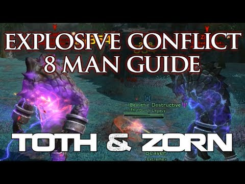 SWTOR Guide | Toth & Zorn - Explosive Conflict Operation - Boss #1 | 8man Storymode