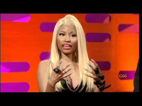 Nicki Minaj on The Graham Norton Show (20th April 2012) - Original
