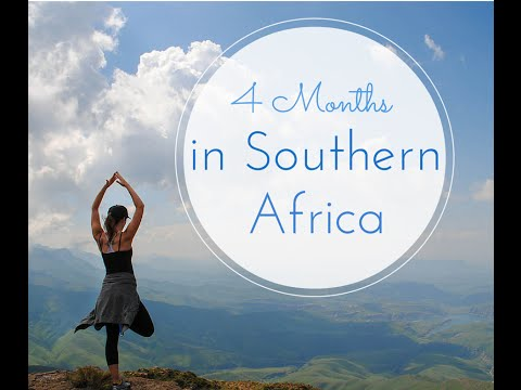 Four Months in Southern Africa - A Solo Traveler's Video Diary
